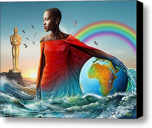 Anthony Mwangi - The Lupita Tsunami Print
