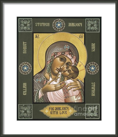 William Hart McNichols - Mother of Fairest Love Print