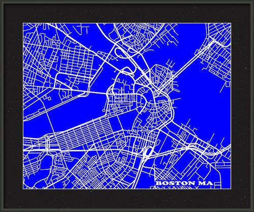 Keith Webber Jr - Boston Massachusetts City... Print