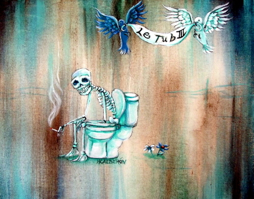Heather Calderon - Le Tub III Print