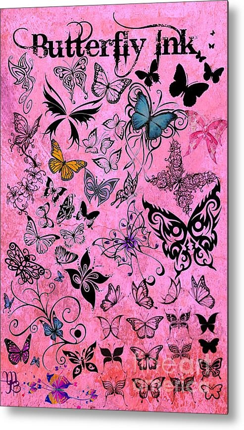 Mindy Bench - Butterfly Ink Print