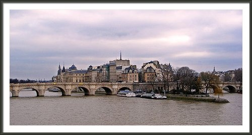 David Pringle - Pont Neuf in Paris Print