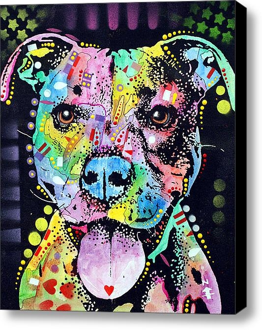 Dean Russo - Cherish The Pitbull Print