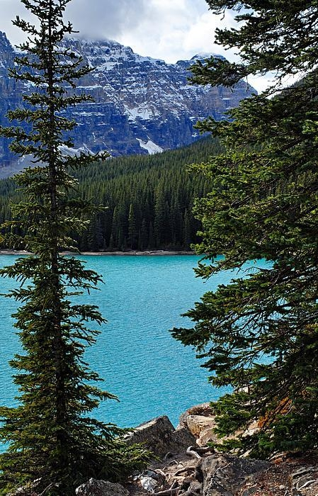 Larry Ricker - Moraine Lake 3 Print