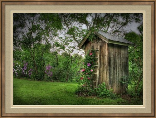 Lori Deiter - Fragrant Outhouse Print