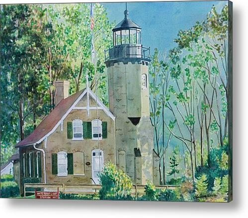 LeAnne Sowa - White River Light Print