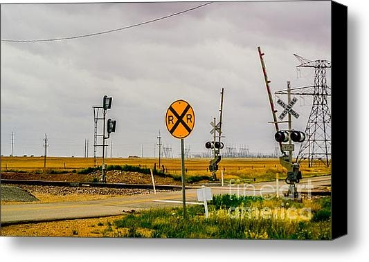 Gib Martinez - Railroad Crossing Print
