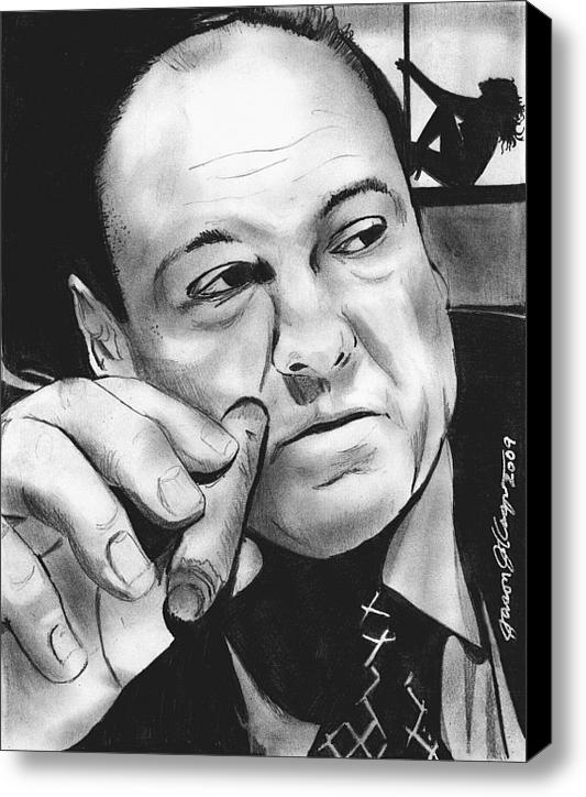 Jason Kasper - Tony Soprano at the Bing Print