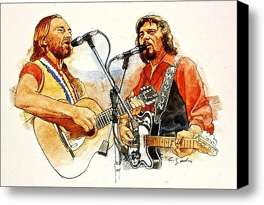 Cliff Spohn - Its Country - 7  Waylon J... Print