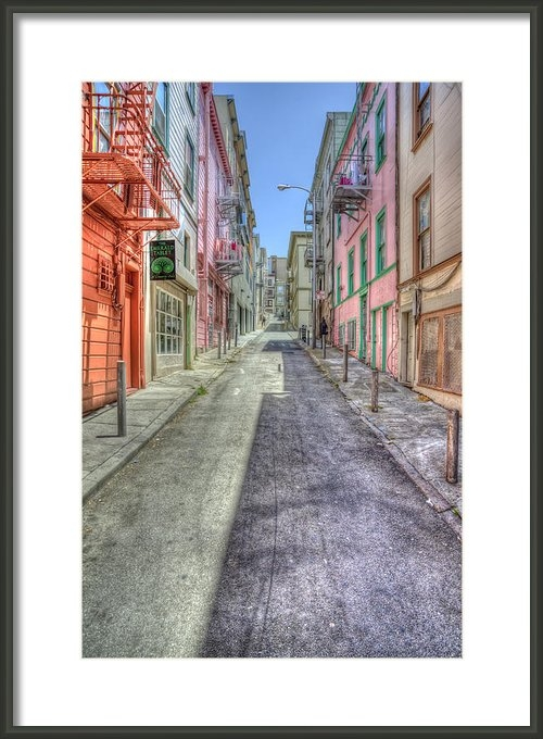 Scott Norris - Steep Street Print