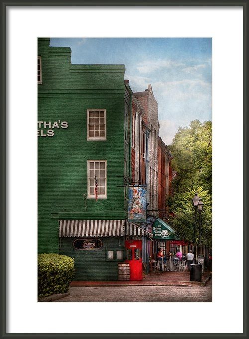 Mike Savad - City - Baltimore - Fells ... Print