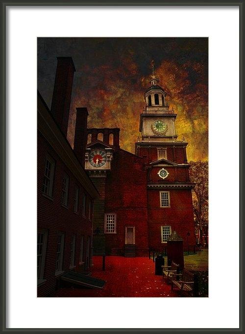 Jeff Burgess - Independence Hall Philade... Print