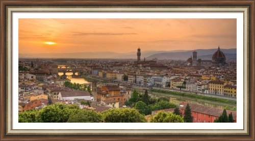 Mick Burkey - Florence Sunset Print