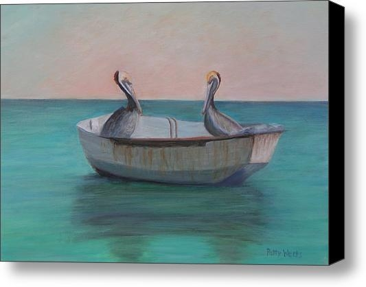 Patty Weeks - Two Friends in a Dinghy Print