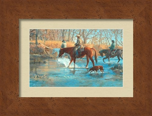 Jim Clements - Trails Leading Home Print