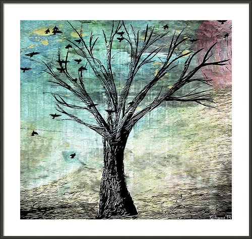 Catherine Harms - The Gathering Tree Print