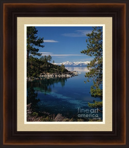 Vance Fox - Lake Tahoe Smooth Print
