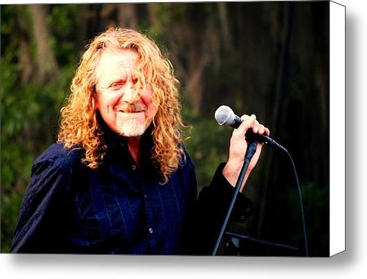 Angela Murray - Robert Plant Print