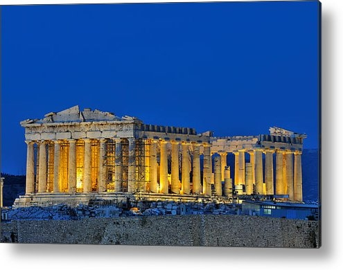George Atsametakis - Parthenon in Acropolis of... Print