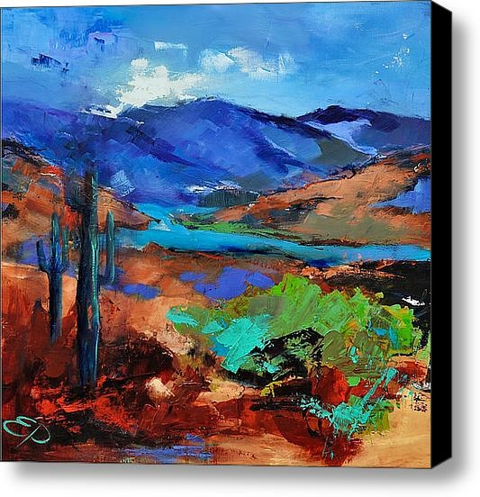 Elise Palmigiani - Along The Trail - Arizona Print