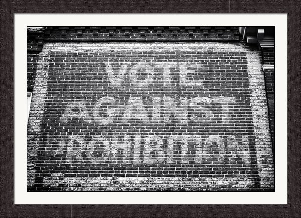 John Rizzuto - Vote Against Prohibition ... Print