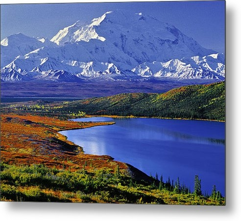 Tim Rayburn - Mount McKinley and Wonder... Print