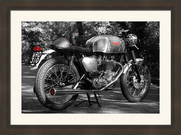 Mark Rogan - Original Cafe Racer Print