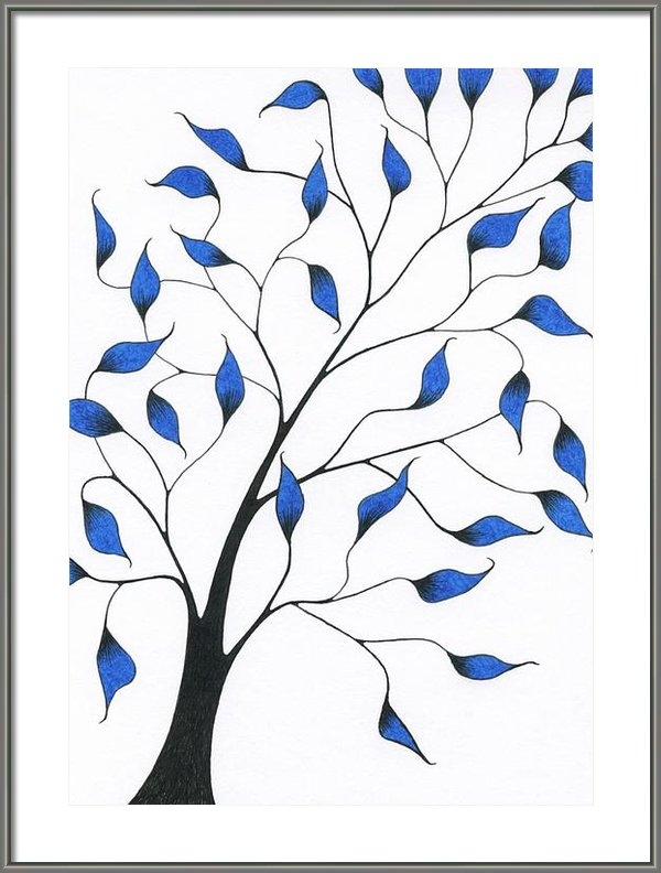 Chris Bishop - Tree 83 - Delicate Whimsy... Print