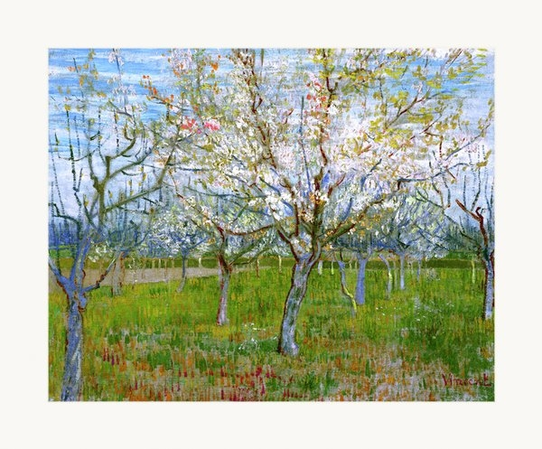 Vincent Van Gogh - Van Gogh The Pink Orchard Print