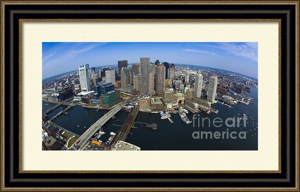 Wayne Dion - Boston Skyline 134 Print