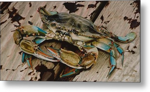 Rob Dreyer AFC - Portrait of a Blue Crab Print