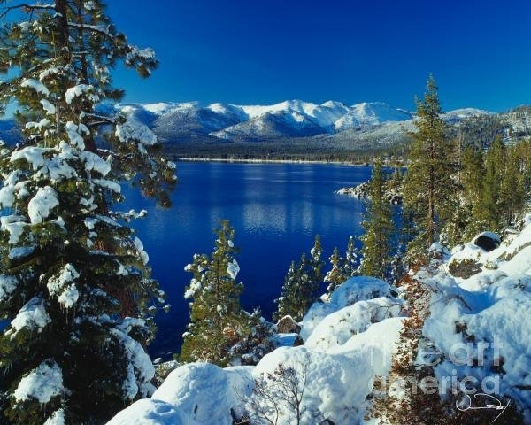Vance Fox - Lake Tahoe Winter Print