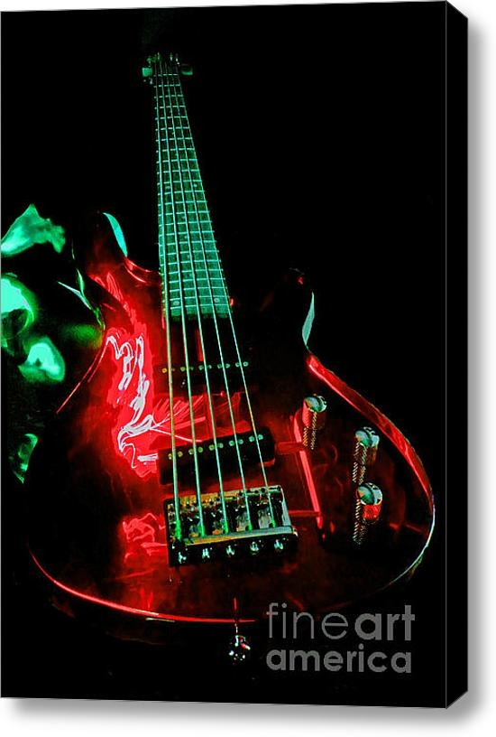 Rob Hawkins - Transparent Bass Print