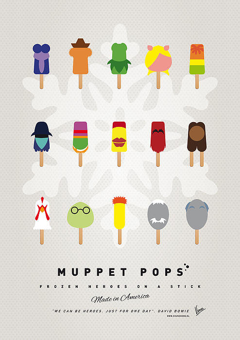 Chungkong Art - My MUPPET ICE POP - UNIVE... Print
