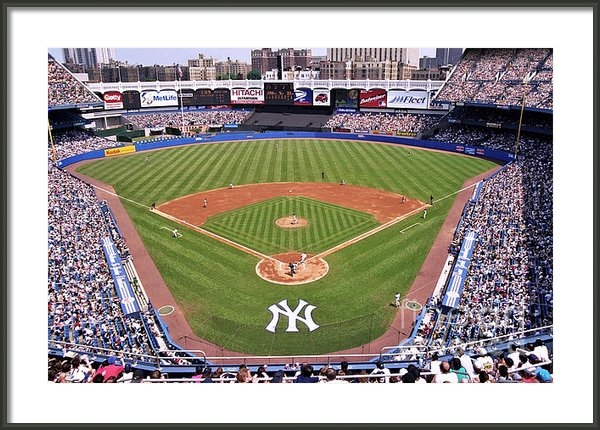 Allen Beatty - Yankee Stadium Print