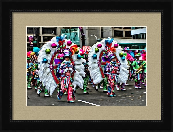 Alice Gipson - Mummer Color Print