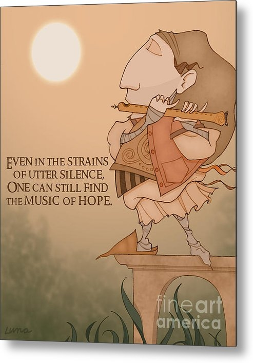 Steven Luna  - The Music of Hope Print