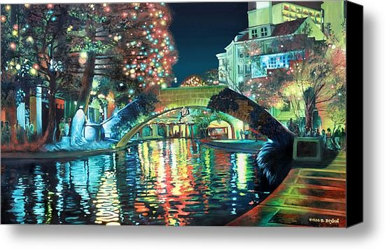 Baron Dixon - Riverwalk Print