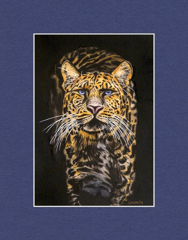 Lynda Grant - Jaguar on the prowel Print