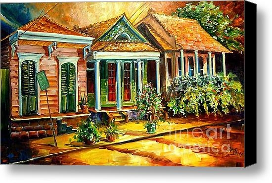 Diane Millsap - Houses in the Marigny Print
