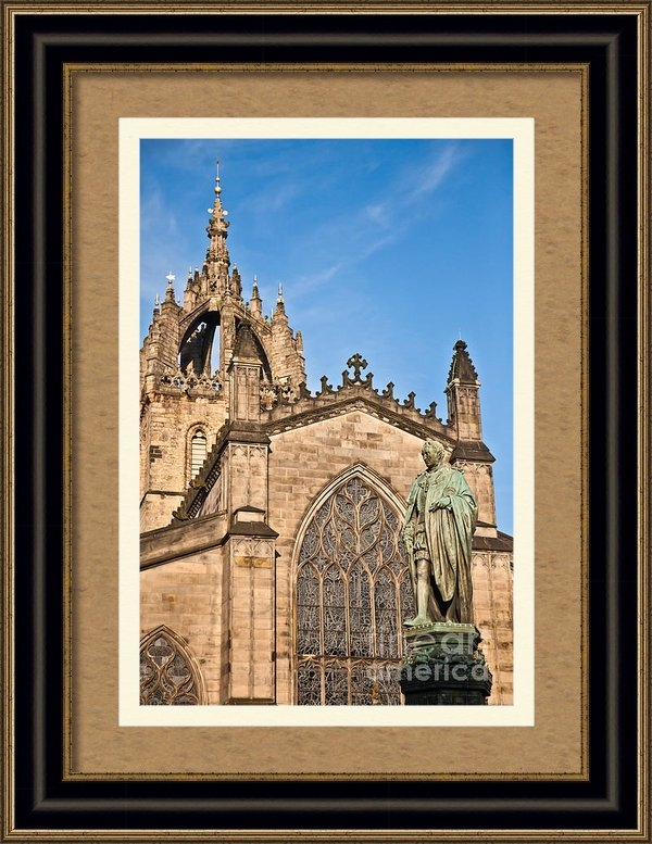 Liz Leyden - St Giles Cathedral  Edinb... Print