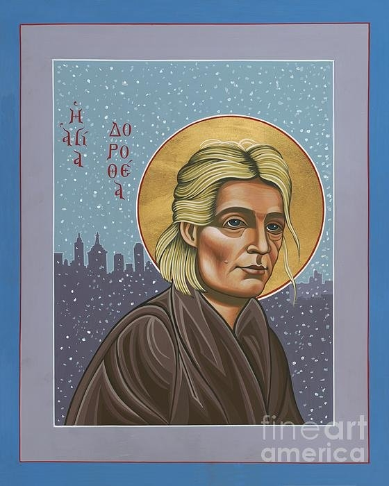 William Hart McNichols - Holy Prophet Dorothy Day Print