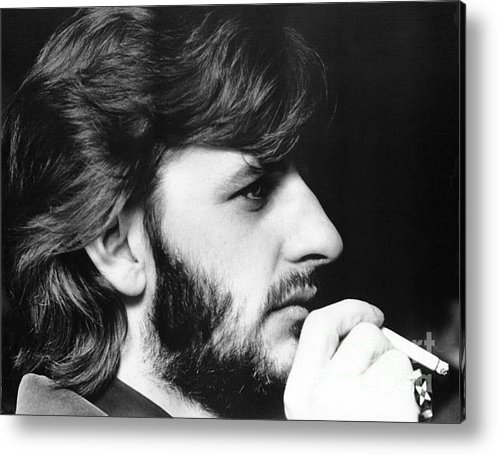 Chris Walter - Ringo Starr in 1972 Print