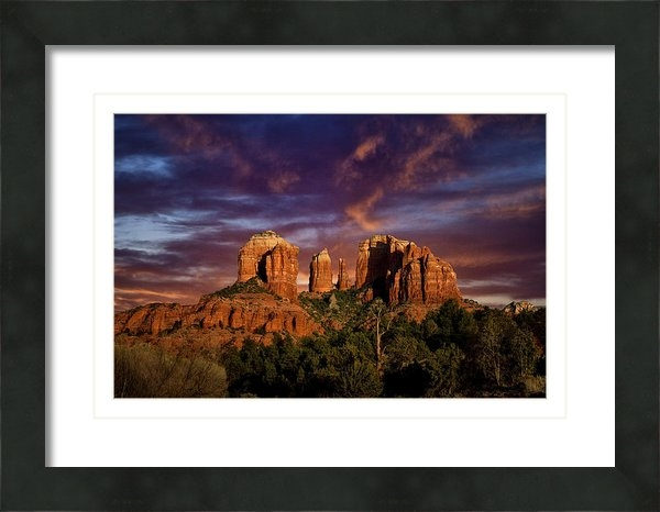 Diana Powell - Cathedral Rock Print