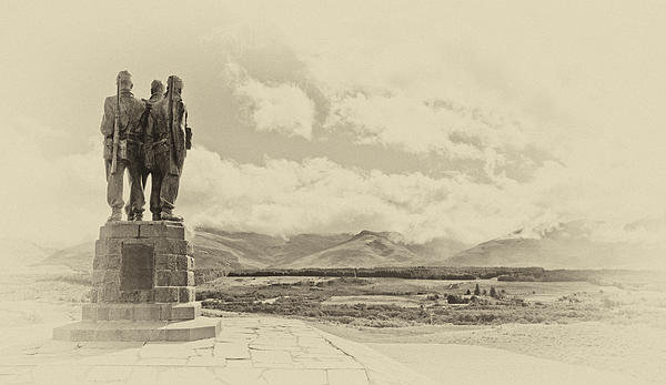 Chris Thaxter - Commando Memorial 3 Print