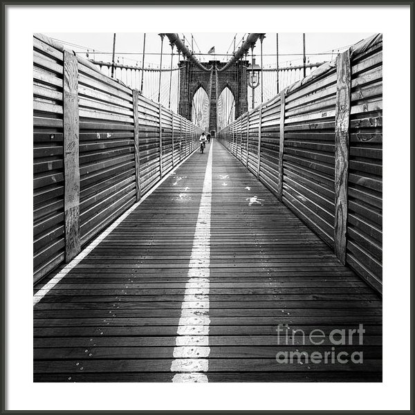 John Farnan - The Riders Brooklyn Bridg... Print