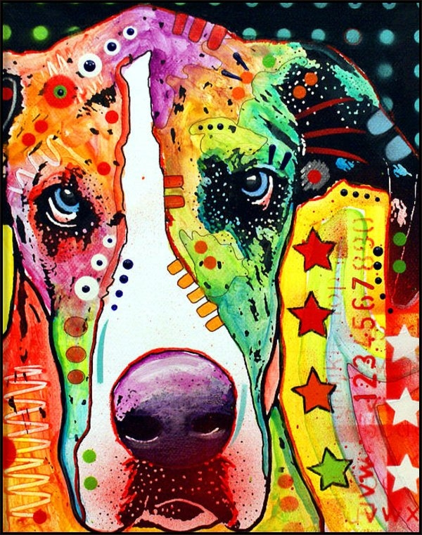 Dean Russo - Great Dane Print