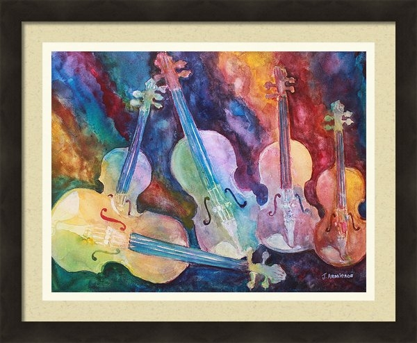 Jenny Armitage - Quintet in Color Print