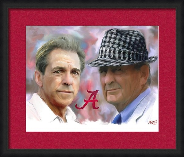 Mark Spears - Saban and Bear Print