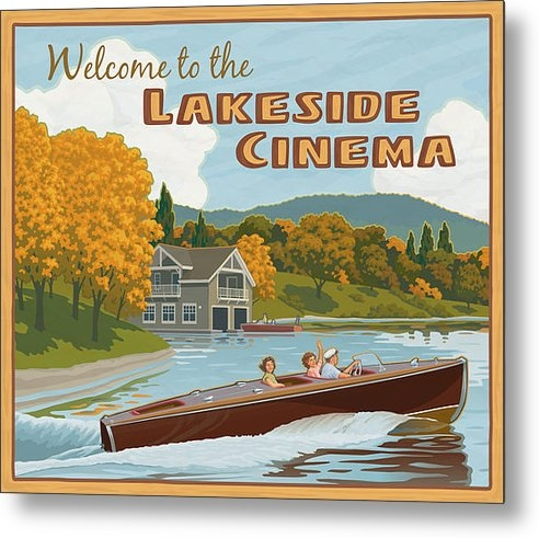 Mitch Frey - Lakeside Cinema Print